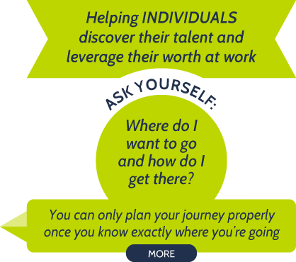 Helping individuals discover their talent and leverage their worth at work