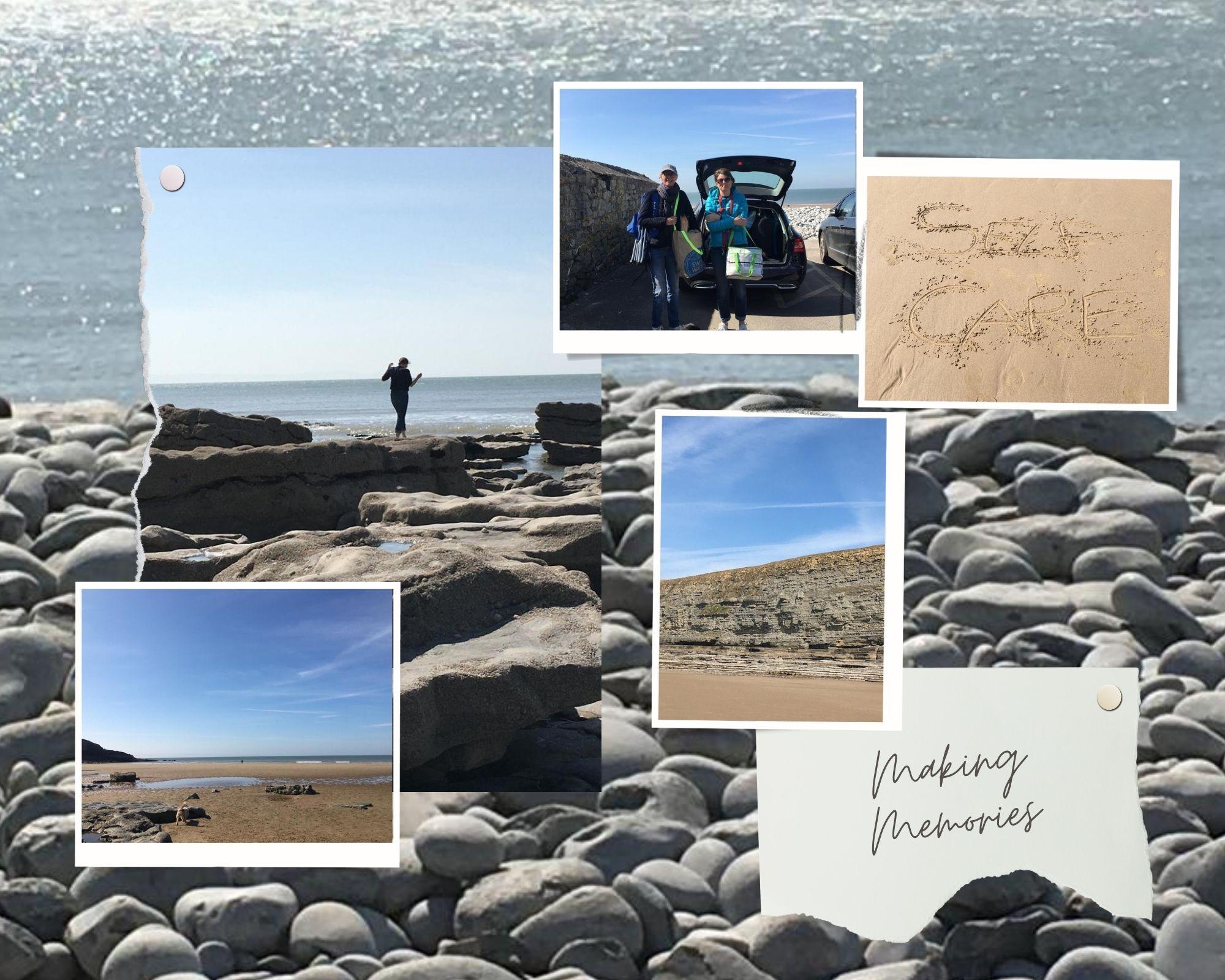 self care, selfcare, beach, sea, ocean, friends, relax, sand, memories